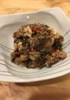 夏野菜の肉味噌炒め(麻婆豆腐風)