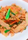 【やみつき】肉と野菜の味噌キムチ炒め