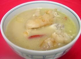 圧力鍋 deコラーゲンたっぷり豚足スープ