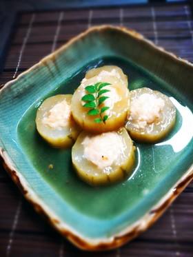 加賀野菜✴太きゅうりの肉詰め