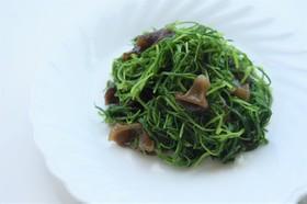 山形の伝統野菜 オカヒジキのおひたし