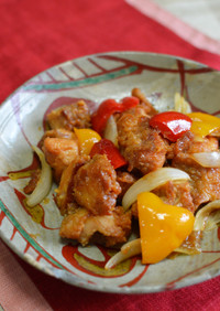 甘酢を作らず、簡単酢鶏!
