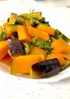 空芯菜と夏野菜の甘酢炒め