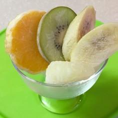 冷凍 フルーツ 小腹を黙らせる