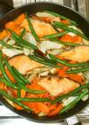 魚・鮭と根野菜の南蛮漬け♪簡単