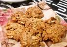 オートミールとフレークのザクザククッキー