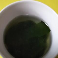 オリジナルわかめスープ!安心安上がり!