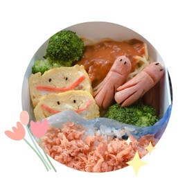 卵やきニコニコ(*´`)♡