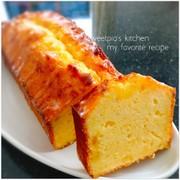 はちみつレモン&ヨーグルトパウンドケーキの写真