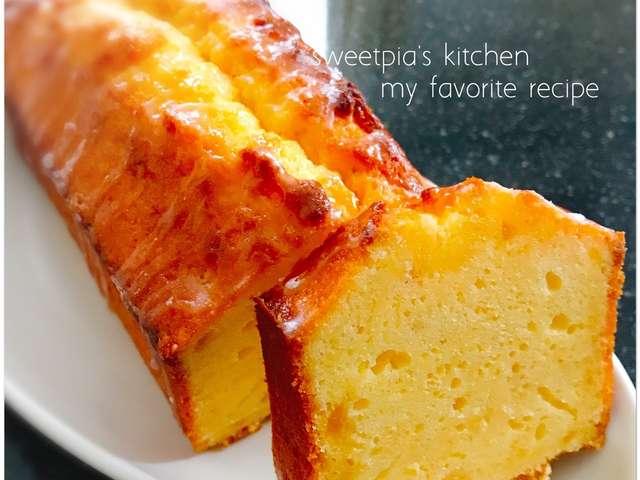 はちみつ レモン パウンド ケーキ