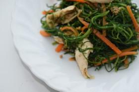 山形の伝統野菜 オカヒジキの和え物