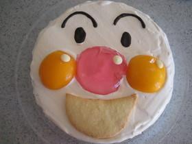 アンパンマンのデコレーションケーキ