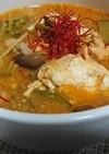 キムチ無しチゲ風スープ