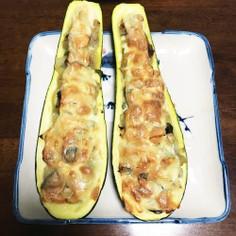 残り野菜処理!ズッキーニのオーブン焼き