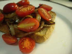 トマトな朝食