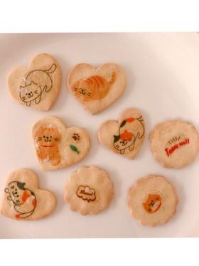 メープルの米粉クッキー