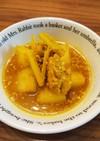 ゲランアセムアヤム(パパイヤと鶏スープ)