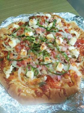 夏野菜たっぷり♪ベーコンBIGサイズピザ