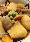 レンジで簡単♪ジャガイモと鶏肉の味噌煮