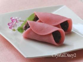春色の桜餅
