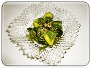 ざっくり胡瓜の写真