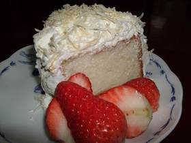 エンゼルフードケーキ☆アメリカのおやつ