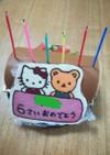 誕生日ケーキ用メッセージプレート2018