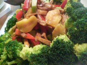 吉田ソースで☆豚肉と野菜炒め