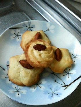 簡単♪さくさく♪絞り出しクッキー