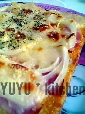 簡単うまし♪ピザトースト