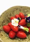 ◦ 手抜き フラワートマトサラダ