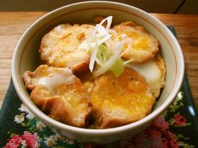 仙台の味♡仙台麩のたまごとじ丼!