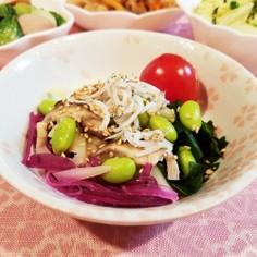 まごわやさしい♡海藻サラダ