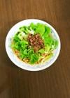 野菜たっぷり担々麺冷やしラーメン