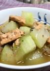 冬瓜と鮭缶の煮物