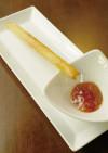 コンフィチュールとチーズ春巻き
