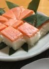 おうちで押し寿司☆富山鱒の寿司(サーモン
