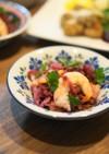 乳酸キャベツと海老のサラダ