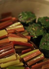 火焔菜(ビート)のおひたし