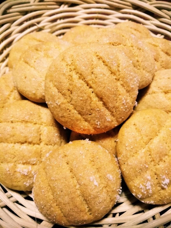 HMで簡単!メロンパンクッキー!