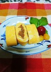 醤油味の玉葱入り卵焼き☆昭和の味