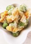 冷凍枝豆&コーンの天ぷら