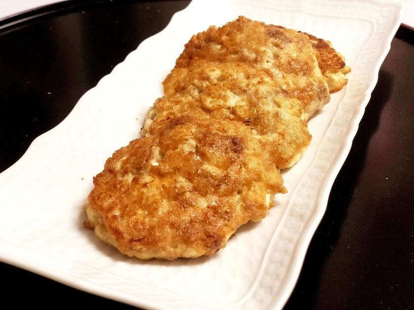 包丁いらず!時短で簡単豆腐ハンバーグ