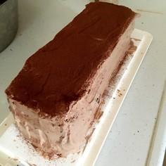 某ブランドのブラックチョコケーキ風