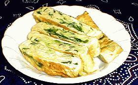 簡単!野菜を食べる卵焼き