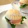 貝<シェル>の形のサンドイッチ