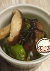 ししとうと椎茸の塩昆布炒め