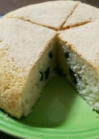 [超簡単]炊飯器で黒豆きな粉パンケーキ