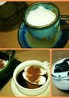 アガーでコーヒーゼリー(^^)