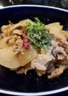 豚肉と大根の甘辛味噌炒め